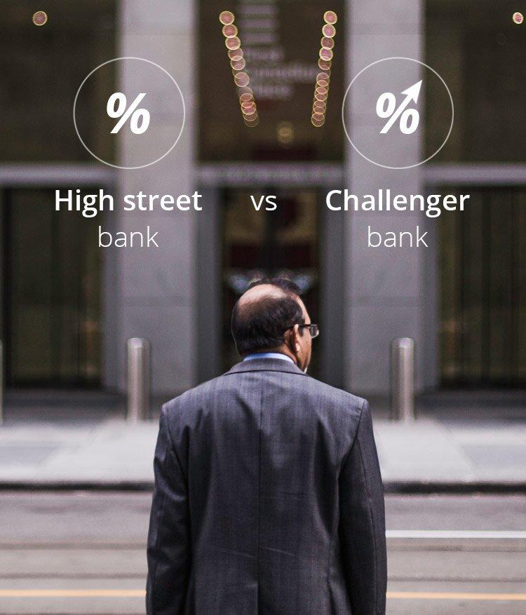 High street banks vs Challenger banks