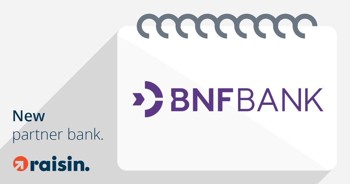 Raisin UK adds BNF Bank to Online Marketplace